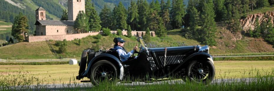 ENGADIN St. Moritz: Britisch Classic Car Meeting, St. Moritz
